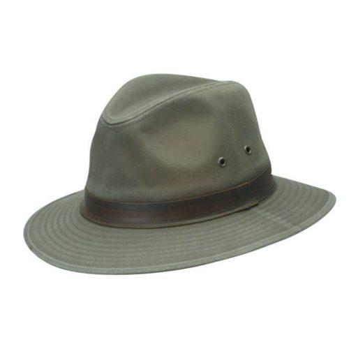 Hiker Twill Safari Cotton Hat by DPC