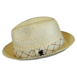Fancy Weave Fedora by Stacy Adams