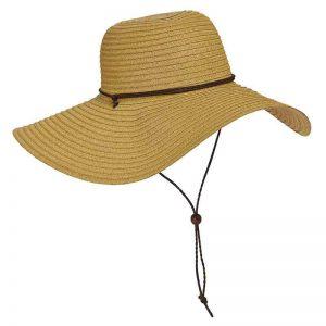 כובע מקש טויו קלוע עם שוליים רחבות מאת דורפמן פסיפיק