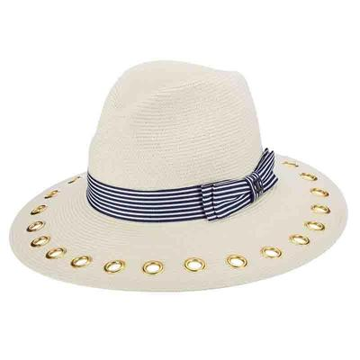 Braid Grommets Sun Protective Hat by Callanan