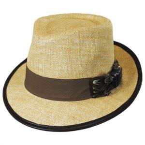 4c3f002c0fff33 Pheasant Toyo Straw Hat by Carlos Santana