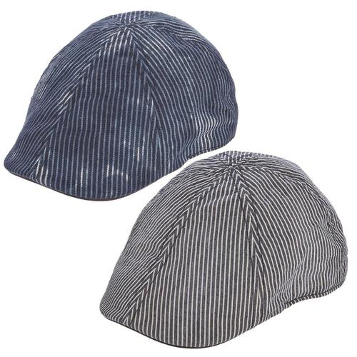 Pinstripe Ivy Cap by Brooklyn Hat Co.