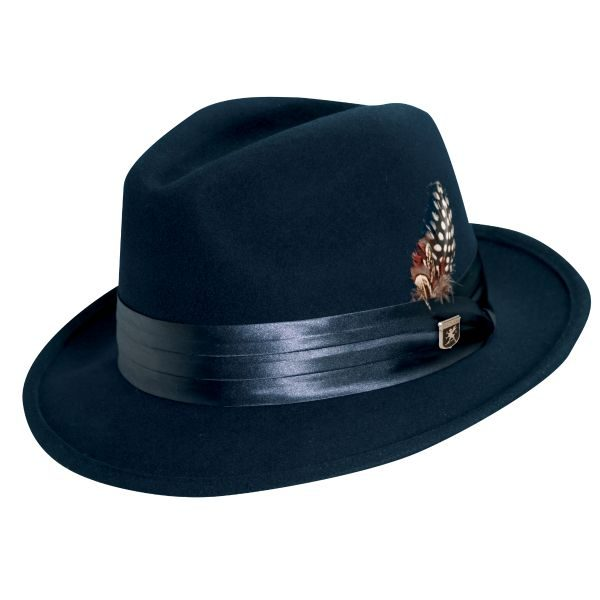 Crush Wool Felt Fedora by Stacy Adams