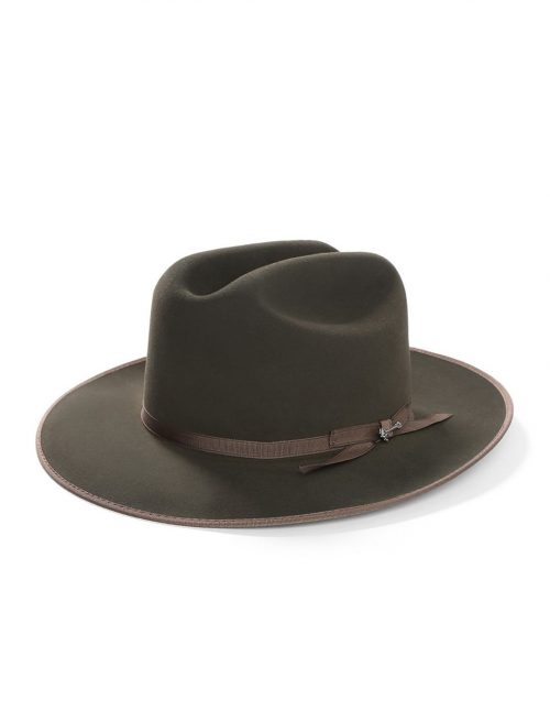 open-road-royal-deluxe-hat-by-stetson-dark-green-wide-brim-made-in-usa-mens-winter-hat-sherlockshats.com