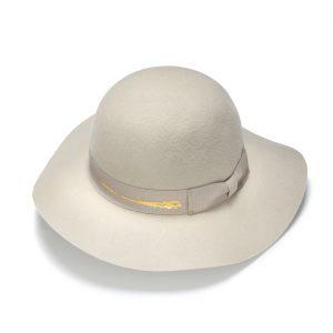 Round Crown Felt Hat by Justine