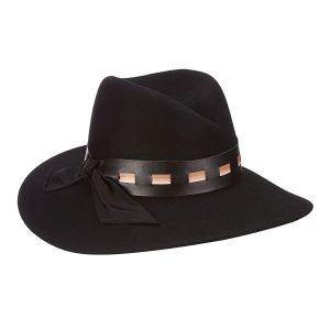 C-Crease Wool Felt Fedora by Brooklyn Hat CO.