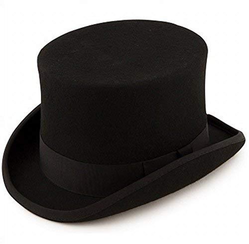 Wool Felt Top Hat by Denton