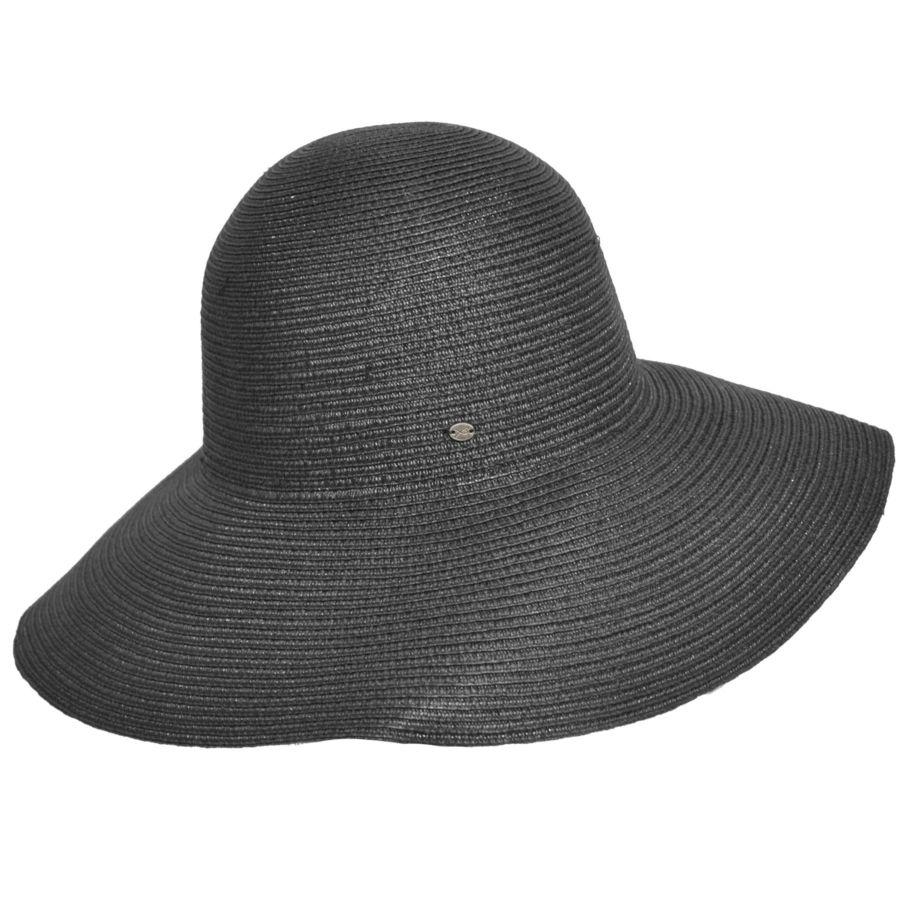 660b30247ed91 ... Straw Hats  Gossamer Wide Brim by Betmar. 🔍. prev