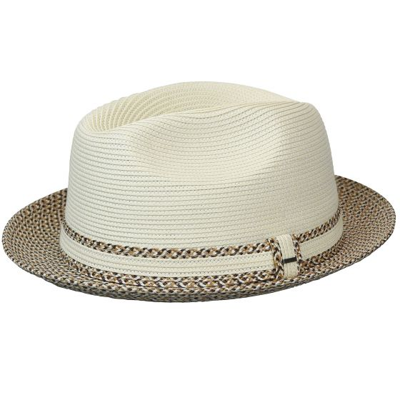 Mannesroe Poly Braid Fedora by Bailey