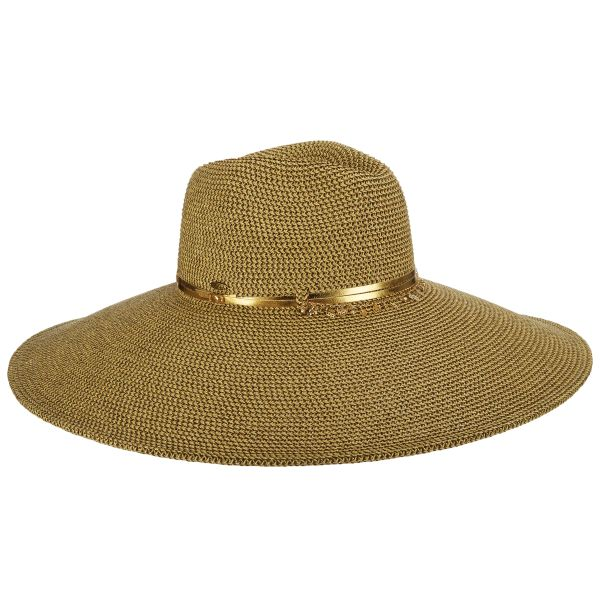 כובע רחב שוליים כרמלה תוצאת סקאלה