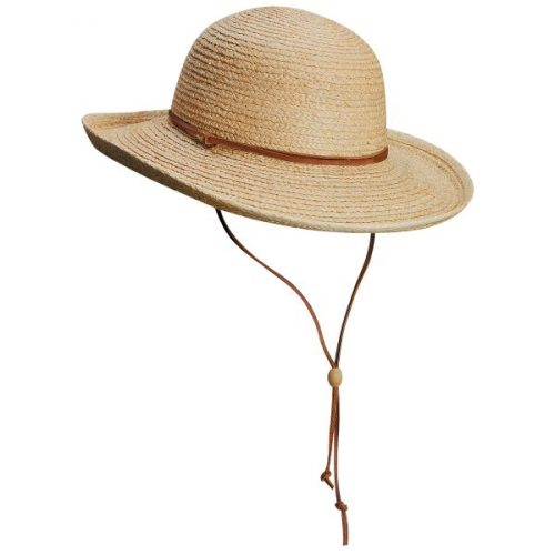 Elba Raffia Upturned Sunhat by Scala