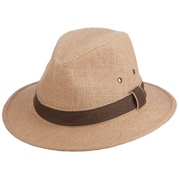 On Shore Hemp Safari Hat by Scala