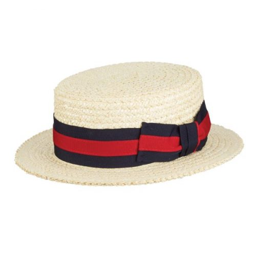 Gondola Straw Boater by Scala