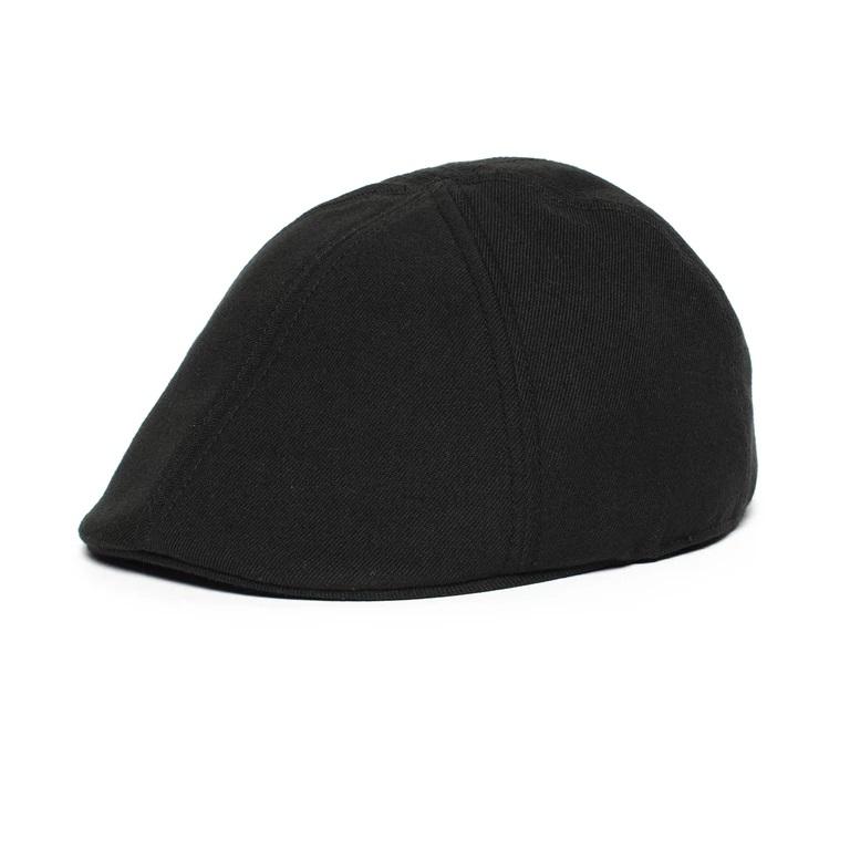 old-town-duckbill-cap-by-goorin-bros-black-flat-cap-mens-year-round-collection-sherlockshats.com