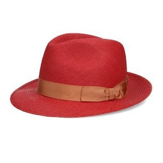 כובע פנמה בעל שוליים בינוניים של חברת בורסלינו