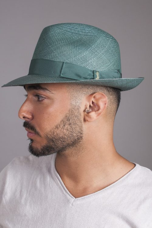 Medium Brim Fine Panama by Borsalino