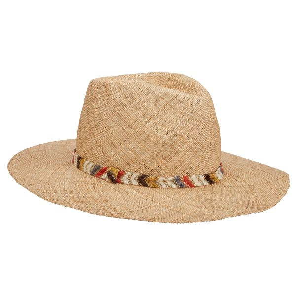 305361259 Saltaire Straw Fedora by Brooklyn Hat Co.