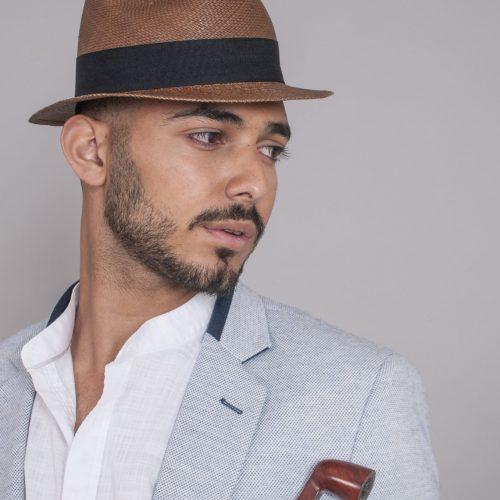la-poquito-panama-small-brim-by-sherlocks-in-natural-straw-brown-pink-men-and-womens-hat-short-brim-handwoven-ecuadorian-straw-black-ribbon-sherlockshats.com
