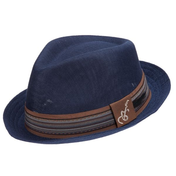 Forward Poly Braid Fedora by Santana