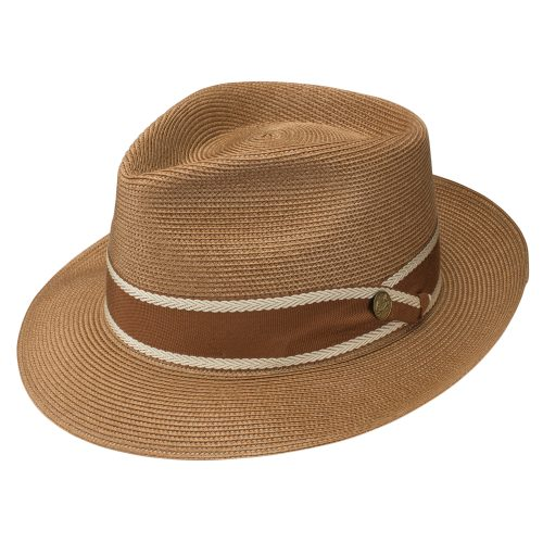 Creve Coeur Milan Fedora by Stetson