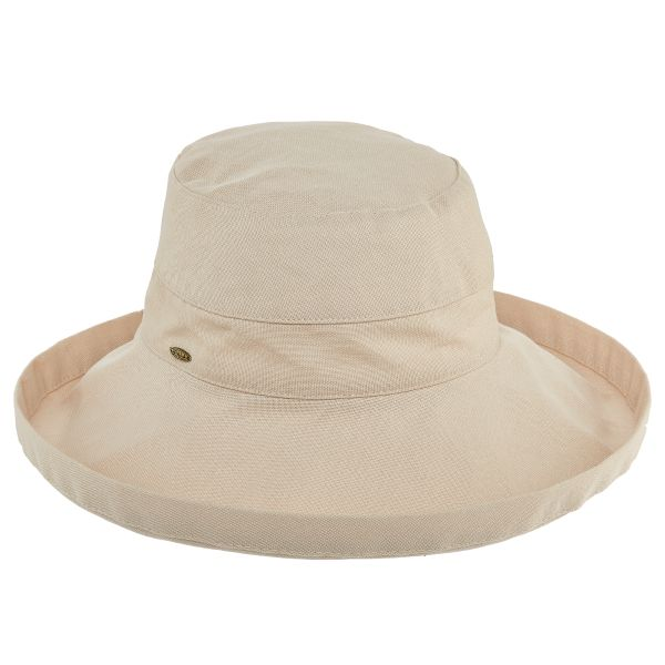 giana-classic-sun-hat-by-scala-in-beige-crushable-sun-hat-with-sun-protection-100-percent-cotton-for-women-and-men-sherlockshats.com