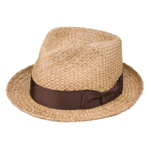 Moroccan Straw Fedora by Stetson