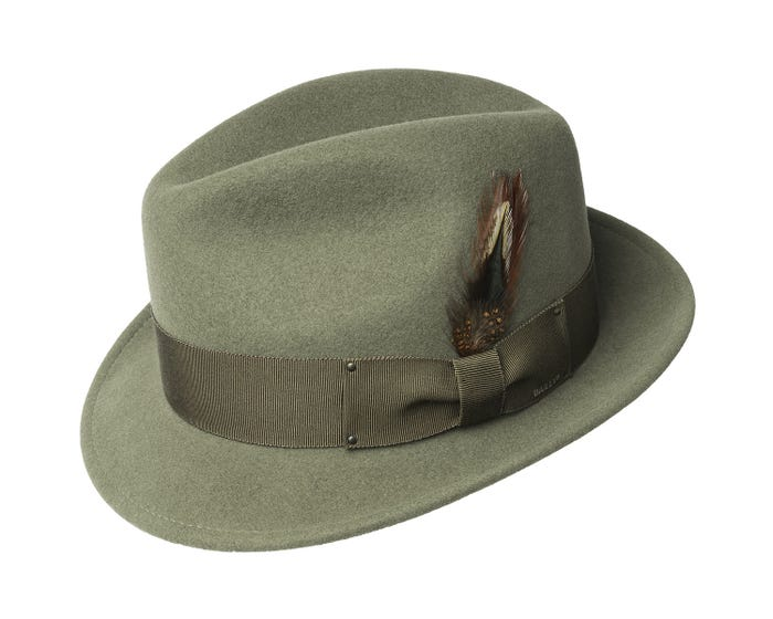 Tino LiteFelt Fedora by Bailey