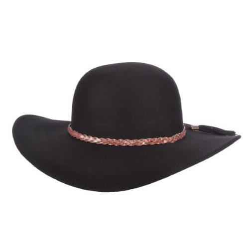 Stage Coach Felt Round Crown by Brooklyn Hat Company