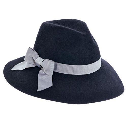 ג'יליאן כובע פדורה מלבד-צמר תוצרת חברת הכובעים ברוקלין