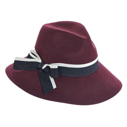Jillian Wool Felt Fedora by Brooklyn Hat Co.