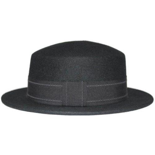 Wool Felt Boater Hat by Christy's