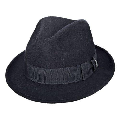 בייסיקס כובע פדורה מלבד-צמר, תוצרת חברת הכובעים ברוקלין