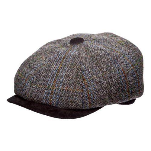 Chadwick Harris Tweed Newsboy Cap by Stetson