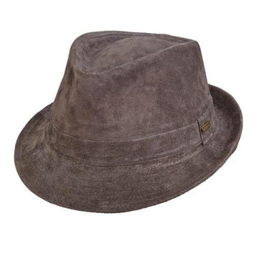 נייאגרה כובע עור בסגנון טרילבי, תוצרת סטטסון
