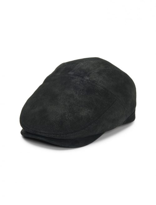 Hood Weathered Leather Ivy Cap by Stetson