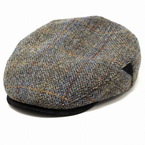 Alden Harris Tweed Flat Cap by Stetson