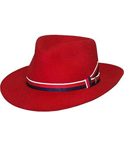 aviatrix-fedora-by-stetson-agent-carter-woolfelt-red-fedora-medium-brim-with-blue-white-red-ribbon-bestseller-sherlockshats.com