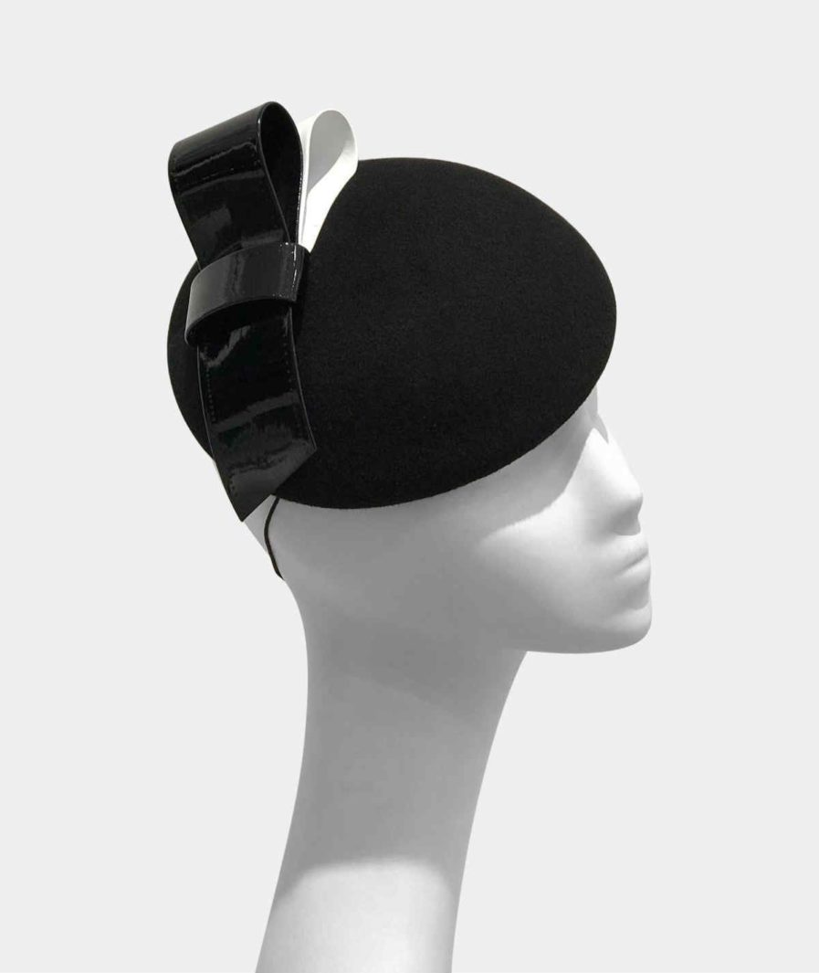 Pavona Pillbox Hat by Danielle Mazin