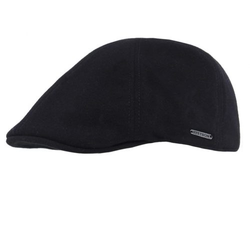 texas-cashmere-by-stetson-in-black-and-brown-flat-cap-mens-winter-sherlockshats.com