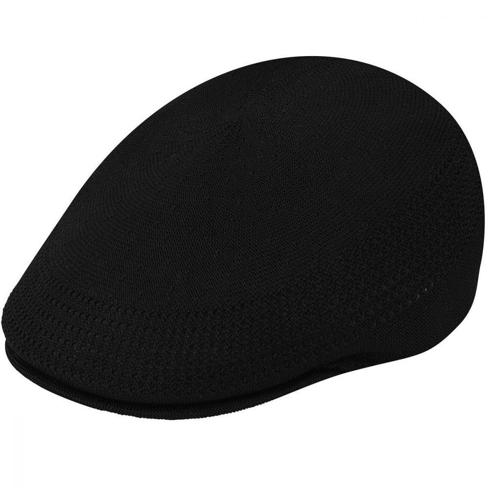 507-ventair-by-kangol-black-narrow-sides-classic-flatcap-mens-womens-summer-winter-sherlockshats.com