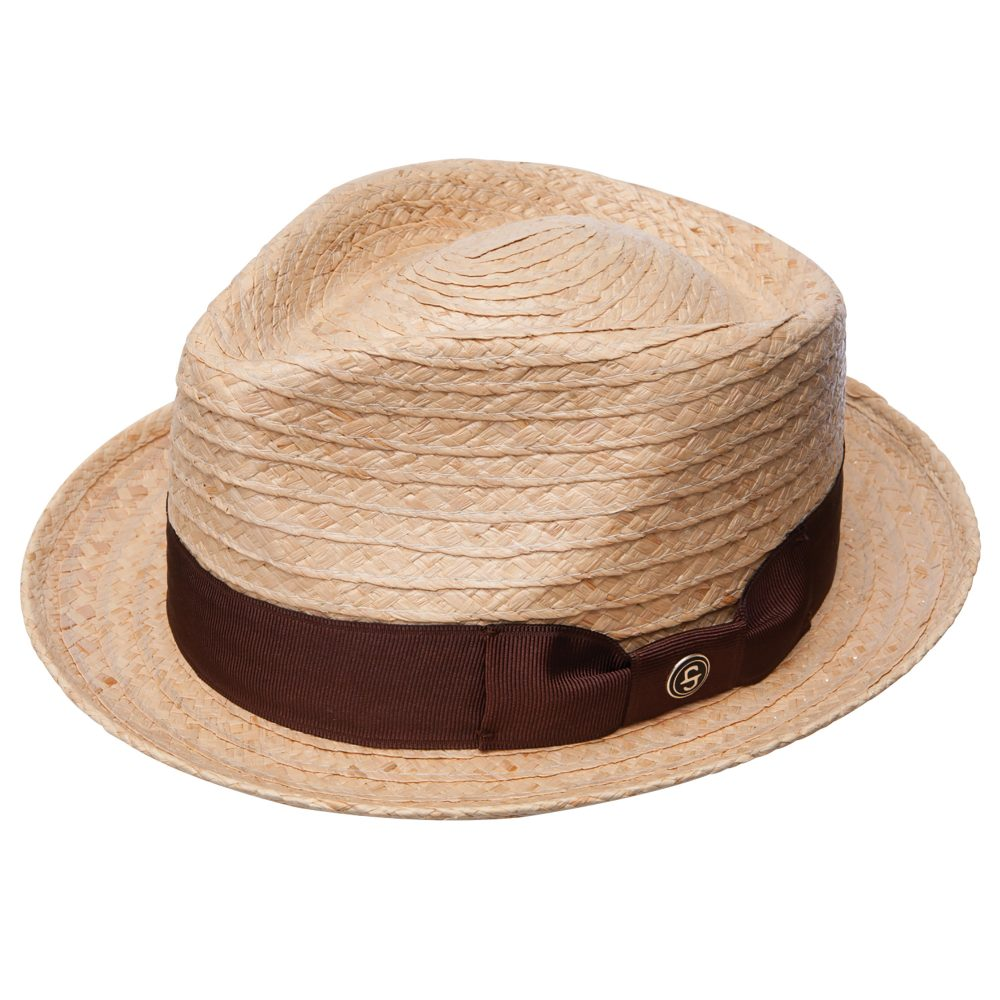 42nd-street-fedora-by-stetson-in-natural-brown-straw-made-in-mexico-short-brim-diamoind-crown-fedora-sherlockshats.com