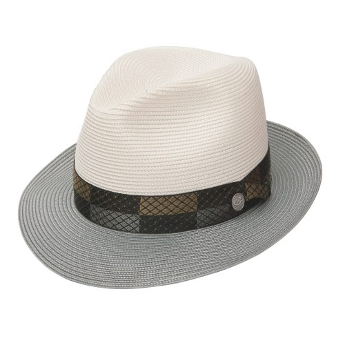 andover-by-stetson-in-grey-and-white-with-detailed-ribbon-medium-brim-mens-womens-summer-collection-sherlockshats.com