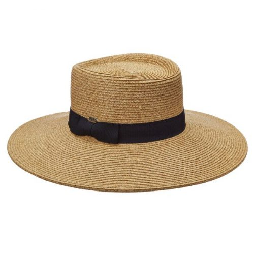 Diego Straw Boater by Scala