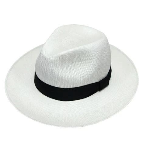 lester-panama-hat-by-sherlocks-in-whhite-beige-and-light-blue-womens-and-mens-genuine-panama-hat-natural-straw-handmade-in-ecuador-fedora-style-black-ribbon-sherlockshats.com