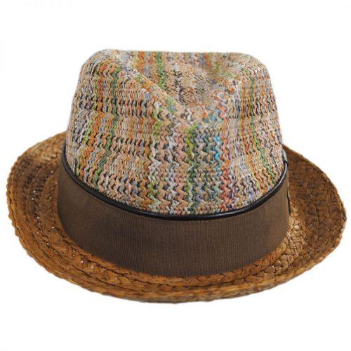 כובע פסיפס פדורה תוצרת קרלוס סנטנה