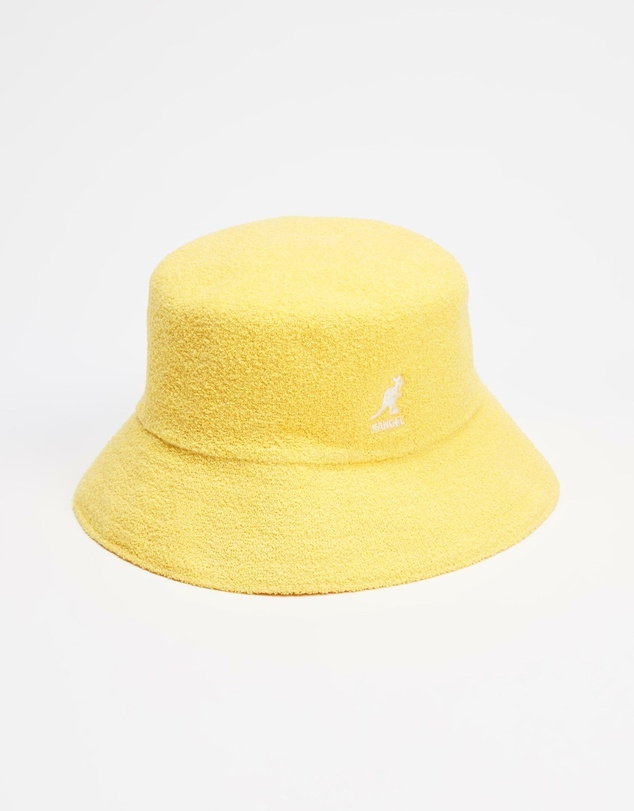 bermuda-bucket-hat-by-kangol-in-yellow-and-mint-women-mens-bucket-hat-short-brim-sherlockshats.com