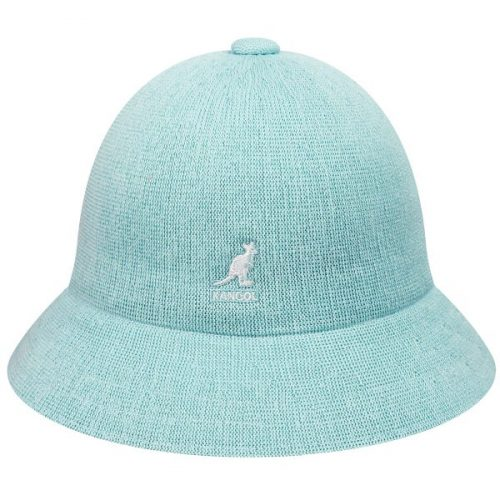 tropic-casual-white-bucket-hat-by-kangol-hats-with-short-brim-rounded-crown-sherlockshats.com-polyester-material-summer-womens-mens-bucket-hat