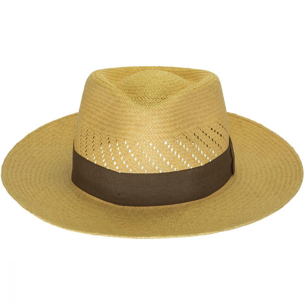 Vent-snap-by-sherlocks-medium-wide-brim-panama-straw-hat-ecuadorian-straw-greenish-hue-brown-band-ventilated-crown-upf-protection-sherlockshats.com